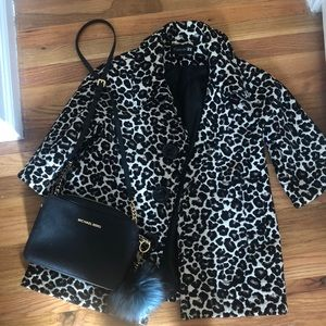 Leopard print spring/fall jacket from Forever 21.